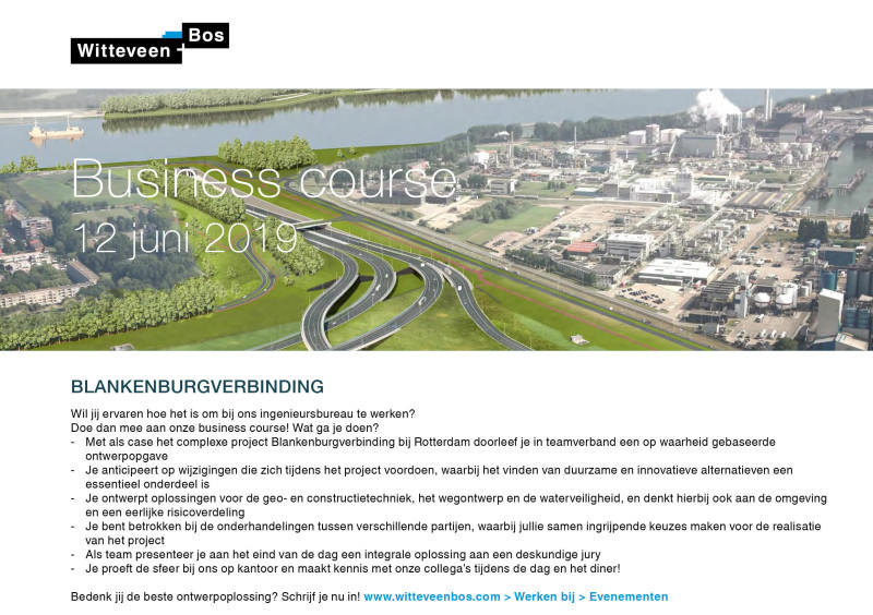 Business Course Witteveen + Bos